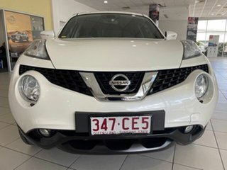 2017 Nissan Juke F15 Series 2 Ti-S X-tronic AWD White 1 Speed Constant Variable Hatchback