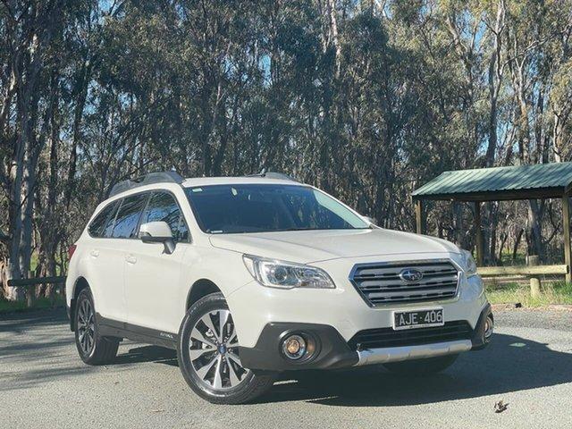 Used Subaru Outback B6A MY17 2.5i CVT AWD Echuca, 2016 Subaru Outback B6A MY17 2.5i CVT AWD White 6 Speed Constant Variable Wagon