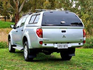 2015 Mitsubishi Triton MN MY15 GLX Double Cab Cool Silver 5 Speed Manual Utility