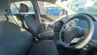 2007 Toyota Yaris NCP90R YR Grey 4 Speed Automatic Hatchback