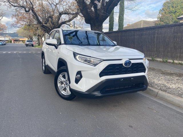 Pre-Owned Toyota RAV4 Axah52R GX 2WD Hawthorn, 2019 Toyota RAV4 Axah52R GX 2WD White 6 Speed Constant Variable Wagon Hybrid