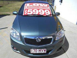 2009 Holden Barina TK MY09 Grey 5 Speed Manual Hatchback.
