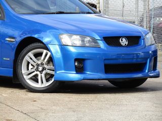 2010 Holden Commodore VE MY10 SV6 Abyss Blue 6 Speed Sports Automatic Sedan.