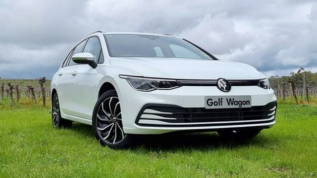 New Volkswagen Golf 8 MY21 110TSI Life Tanunda, 2021 Volkswagen Golf 8 MY21 110TSI Life Pure White 8 Speed Sports Automatic Wagon