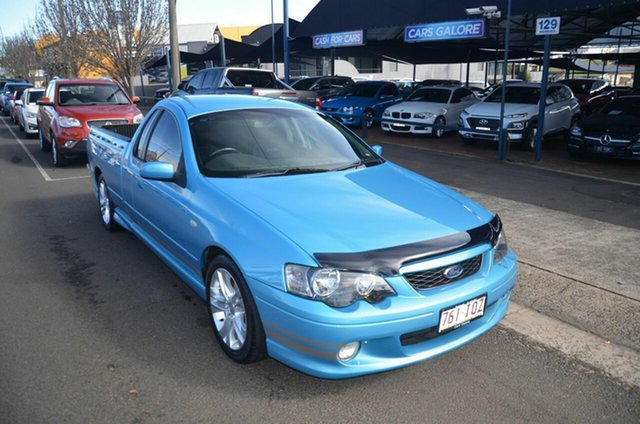 Used Ford Falcon BA MkII XR6 Toowoomba, 2005 Ford Falcon BA MkII XR6 Blue 5 Speed Manual Utility