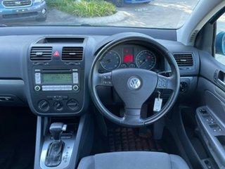 2006 Volkswagen Golf V Comfortline Tiptronic Blue 6 Speed Sports Automatic Hatchback.