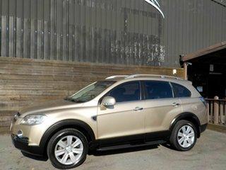 2008 Holden Captiva CG MY08 LX AWD 60th Anniversary Gold 5 Speed Sports Automatic Wagon
