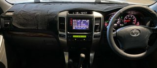 2005 Toyota Landcruiser Prado GRJ120R Grande Silver 5 Speed Automatic Wagon