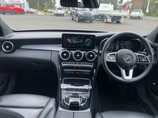 2018 Mercedes-Benz C-Class W205 809MY C220 d 9G-Tronic White 9 Speed Sports Automatic Sedan
