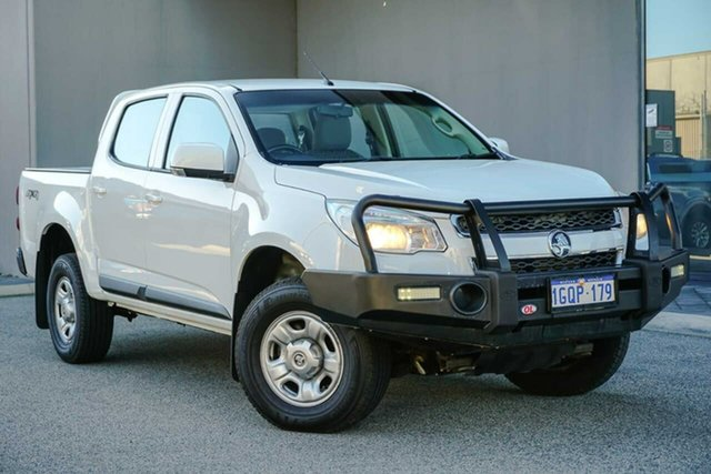 Used Holden Colorado RG MY16 LS-X Crew Cab Osborne Park, 2016 Holden Colorado RG MY16 LS-X Crew Cab White 6 Speed Sports Automatic Utility