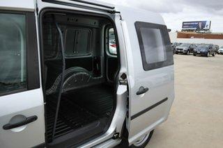 2014 Volkswagen Caddy 2KN MY15 TSI160 SWB Silver 5 Speed Manual Van.