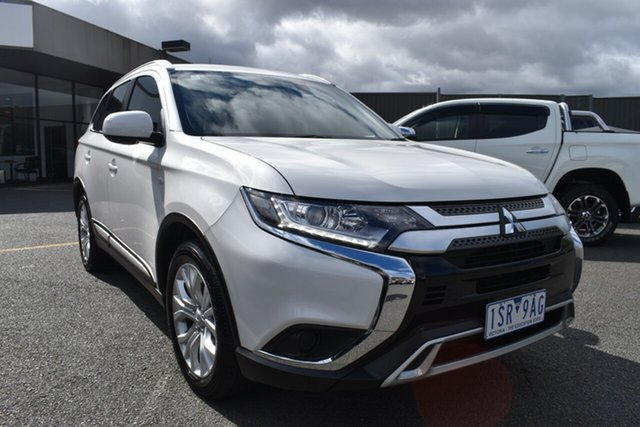 Used Mitsubishi Outlander ZL MY20 ES 2WD Wantirna South, 2019 Mitsubishi Outlander ZL MY20 ES 2WD Starlight 6 Speed Constant Variable Wagon