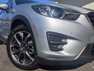 2016 Mazda CX-5 KE1022 Grand Touring SKYACTIV-Drive AWD Sonic Silver 6 Speed Sports Automatic Wagon.