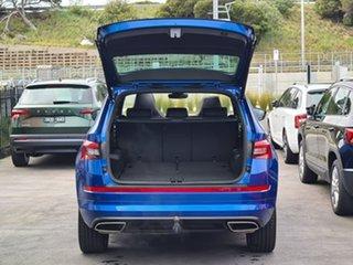 2020 Skoda Kodiaq NS MY20.5 RS DSG Blue 7 Speed Sports Automatic Dual Clutch Wagon
