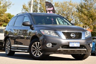 2014 Nissan Pathfinder R52 MY14 ST-L X-tronic 2WD Grey 1 Speed Constant Variable Wagon.