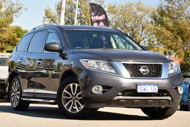 Used Nissan Pathfinder R52 MY14 ST-L X-tronic 2WD Clarkson, 2014 Nissan Pathfinder R52 MY14 ST-L X-tronic 2WD Grey 1 Speed Constant Variable Wagon