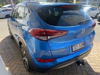 2015 Hyundai Tucson TLE Highlander D-CT AWD Ara Blue 7 Speed Sports Automatic Dual Clutch Wagon.