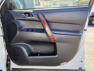 2013 Toyota Kluger GSU45R MY12 Grande AWD Pearl White 5 Speed Sports Automatic Wagon