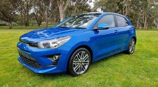 2021 Kia Rio YB MY21 SX Sporty Blue 6 Speed Automatic Hatchback
