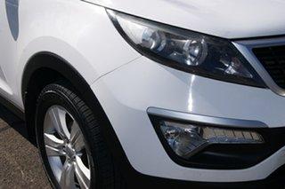 2011 Kia Sportage SL MY12 SI (FWD) White 6 Speed Automatic Wagon.