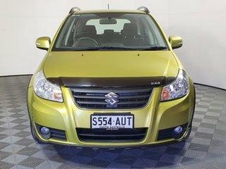 2012 Suzuki SX4 GYA MY13 Crossover AWD Yellow 6 Speed Constant Variable Hatchback