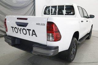 2021 Toyota Hilux GUN126R SR Double Cab White 6 Speed Manual Utility