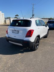 2015 Holden Trax TJ MY16 LS White 6 Speed Automatic Wagon