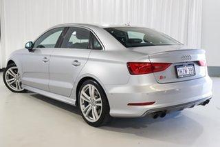 2014 Audi S3 8V MY15 S Tronic Quattro Silver 6 Speed Sports Automatic Dual Clutch Sedan.