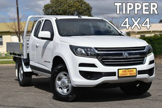 2019 Holden Colorado RG MY20 LS Space Cab White 6 Speed Sports Automatic Cab Chassis.