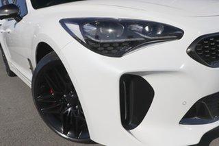 2021 Kia Stinger CK MY21 GT Fastback Snow White Pearl 8 Speed Sports Automatic Sedan.