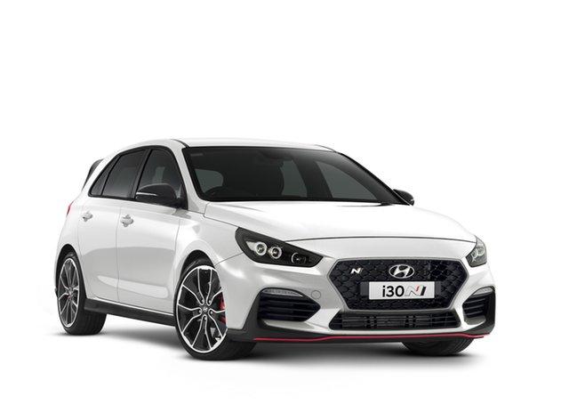 New Hyundai i30 Pde.v4 MY22 N D-CT Geelong, 2021 Hyundai i30 Pde.v4 MY22 N D-CT Polar White 8 Speed Automatic Hatchback