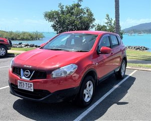 Nissan Dualis J10 MY13 ST Red Automatic Wagon.