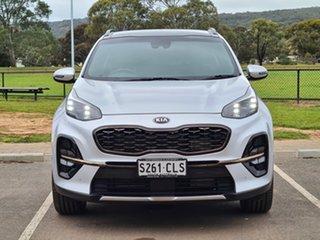 2018 Kia Sportage QL MY19 GT-Line AWD Silver 8 Speed Sports Automatic Wagon.