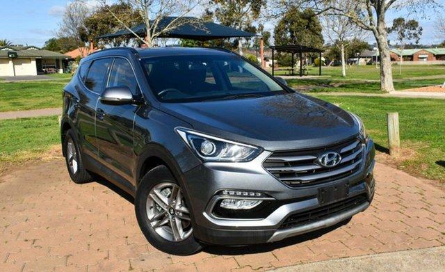 Used Hyundai Santa Fe DM3 MY17 Active Ingle Farm, 2017 Hyundai Santa Fe DM3 MY17 Active Grey 6 Speed Sports Automatic Wagon