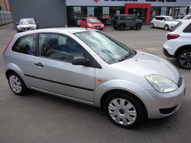 Used Ford Fiesta WP LX Wagga Wagga, 2004 Ford Fiesta WP LX Silver 4 Speed Automatic Hatchback