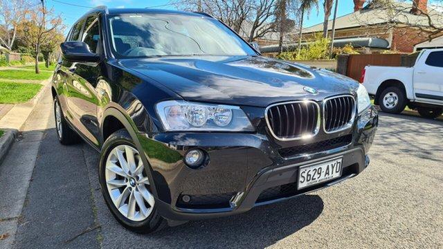 Used BMW X3 F25 xDrive20d Prospect, 2013 BMW X3 F25 xDrive20d Black 8 Speed Automatic Wagon