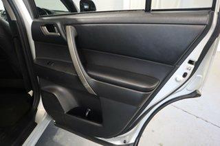 2013 Toyota Kluger GSU40R MY12 KX-S 2WD Silver 5 Speed Sports Automatic Wagon