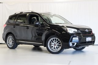 2016 Subaru Forester S4 MY16 tS CVT AWD Black 8 Speed Constant Variable Wagon.