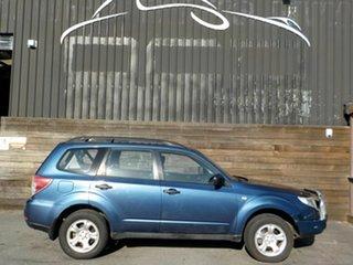 2011 Subaru Forester S3 MY11 X AWD Blue 5 Speed Manual Wagon.