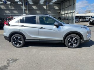 2020 Mitsubishi Eclipse Cross YB MY21 LS 2WD Silver 8 Speed Constant Variable Wagon.