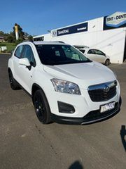 2015 Holden Trax TJ MY16 LS White 6 Speed Automatic Wagon.