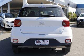 2019 Hyundai Venue QX MY20 Go Polar White 6 Speed Manual Wagon