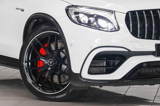 2019 Mercedes-Benz GLC-Class C253 809MY GLC63 AMG Coupe SPEEDSHIFT MCT 4MATIC+ S Polar White 9 Speed