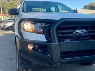 2020 Ford Ranger PX MkIII 2020.75MY XL White 6 Speed Sports Automatic Double Cab Chassis