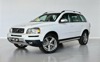 2009 Volvo XC90 P28 MY10 D5 Geartronic R-Design White 6 Speed Sports Automatic Wagon.
