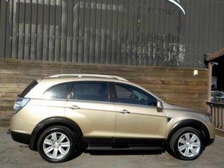 2008 Holden Captiva CG MY08 LX AWD 60th Anniversary Gold 5 Speed Sports Automatic Wagon.