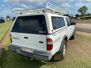 2004 Ford Courier PG XL Super Cab White 5 Speed Manual Utility