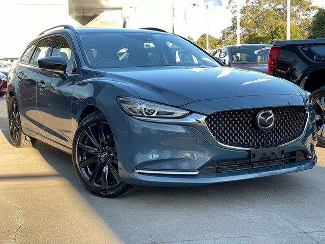 New Mazda 6 GL1033 GT SP SKYACTIV-Drive Waitara, 2020 Mazda 6 GL1033 GT SP SKYACTIV-Drive Grey 6 Speed Sports Automatic Wagon
