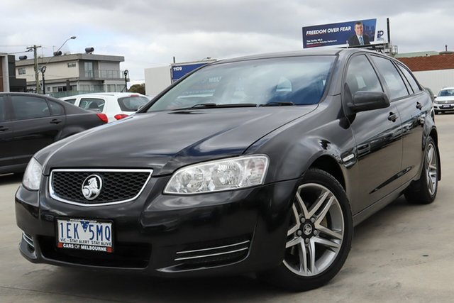 Used Holden Commodore VE II MY12 Omega Sportwagon Coburg North, 2011 Holden Commodore VE II MY12 Omega Sportwagon Black 6 Speed Sports Automatic Wagon