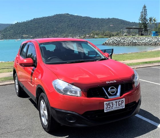 Used Nissan Dualis J10 MY13 ST Proserpine, Nissan Dualis J10 MY13 ST Red Automatic Wagon